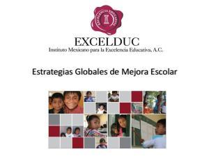 Estrategias Globales de Mejora Escolar