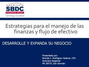Estrategias para el manejo de las finanzas y flujo de efectivo