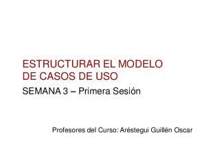 ESTRUCTURAR EL MODELO DE CASOS DE USO