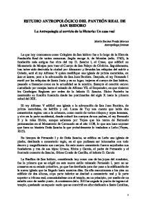 ESTUDIO ANTROPOLÓGICO DEL PANTEÓN REAL DE SAN ISIDORO