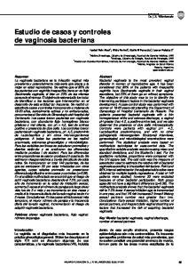 Estudio de casos y controles de vaginosis bacteriana