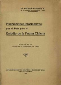 Estudio de la Fauna Chilena