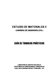 ESTUDIO DE MATERIALES II