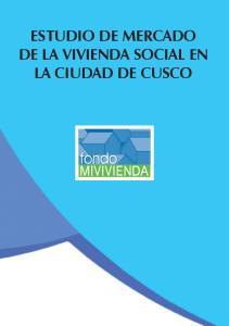 ESTUDIO DE MERCADO DE LA VIVIENDA SOCIAL EN LA CIUDAD DE CUSCO