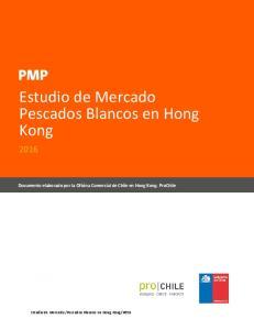 Estudio de Mercado Pescados Blancos en Hong Kong