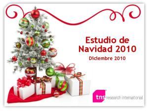 Estudio de Navidad Diciembre 2010