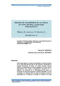 Estudio de Sensibilidad de un Motor de Ciclo Stirling empleando Simulaciones
