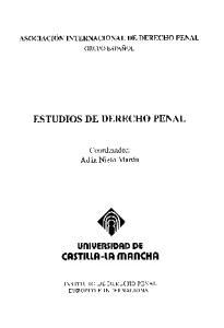 ESTUDIOS DE DERECHO PENAL