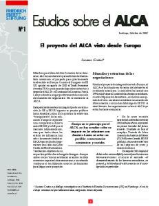 Estudios sobre el ALCA