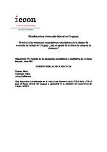 Estudios sobre el mercado laboral en Uruguay