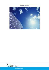 ET3034TU: Solar Cells