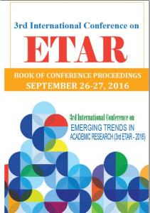 ETAR 2016 Conference Proceeding Book of Abstracts