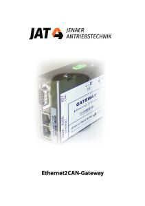 Ethernet2CAN-Gateway
