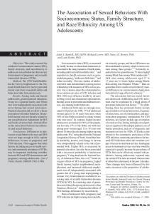 Ethnicity Among US Adolescents