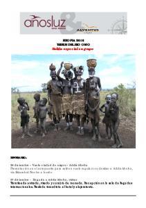ETIOPIA 2016 TRIBUS DEL RIO OMO Salida especial en grupo