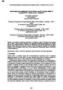 ETM+: Estudo de caso Cuiabá-MT
