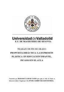 E.U. DE MAGISTERIO DE SEGOVIA