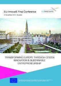 EU-InnovatE Final Conference