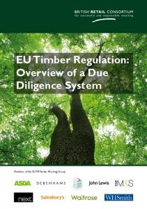 EU Timber Regulation: Overview of a Due Diligence System EU Timber Regulation: Overview of a Due Diligence System