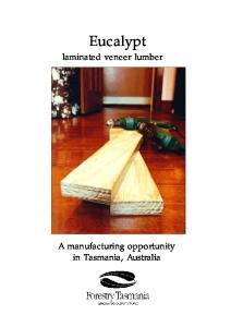 Eucalypt laminated veneer lumber