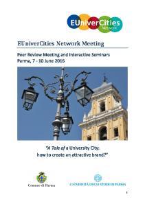 EUniverCities Network Meeting