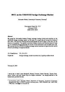 EUR Foreign Exchange Market