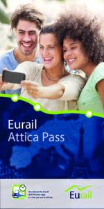 Eurail Attica Pass. Download the Eurail Rail Planner App. It s free and works offline!