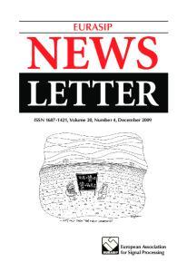 EURASIP NEWS LETTER ISSN