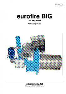 eurofire BIG 100, 200, 300 kw