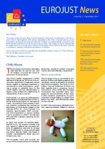 EUROJUST News Issue No. 5 - December 2011