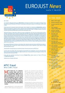 EUROJUST News Issue No March 2014