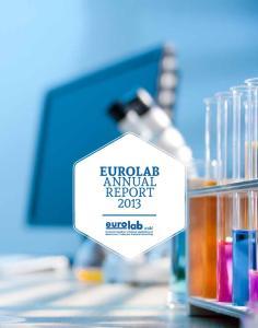 EUROLAB ANNUAL REPORT 2013