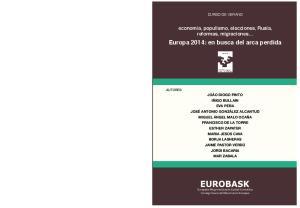 Europa 2014: en busca del arca perdida