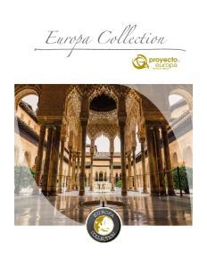 Europa Collection EUROPA COLLECTION