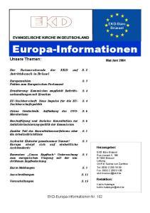 Europa-Informationen