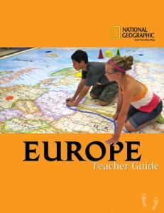 EUROPE ACTIVITIES OVERVIEW