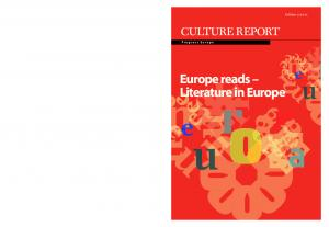 Europe reads Literature in Europe