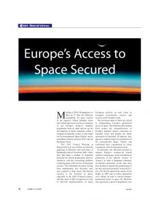 Europe s Access to Space Secured