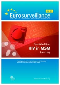 Europe s journal on infectious disease epidemiology, prevention and control