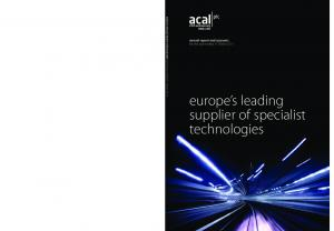 europe s leading supplier of specialist technologies