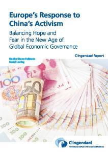 Europe s Response to China s Activism