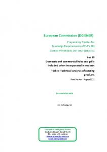 European Commission (DG ENER)