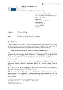 EUROPEAN COMMISSION EUROSTAT