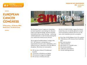 European. Congress. ESTRo conferences