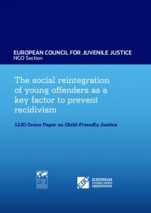 EUROPEAN COUNCIL FOR JUVENILE JUSTICE