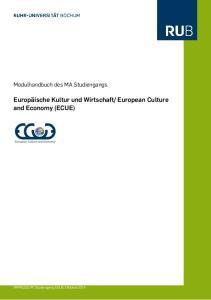 European Culture and Economy (ECUE)