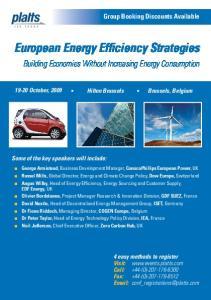European Energy Efficiency Strategies