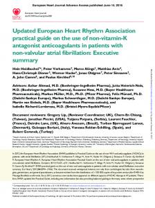 European Heart Journal Advance Access published June 14, 2016