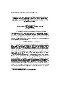 European Integration Studies, Volume 9. Number 1. (2011) pp