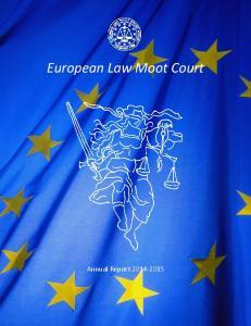 European Law Moot Court